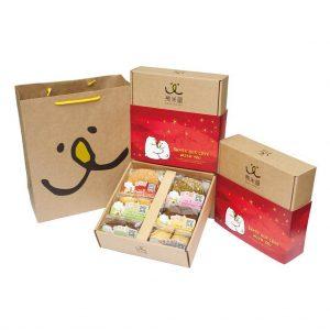 【九入禮盒】幸福$450_151203_6餅乾(雲海紅版)