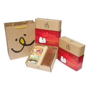 【九入禮盒】快樂$450_151203_3餅乾_蜂蜜(雲海紅版)
